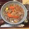春日 - 料理写真:けんちんそば(揚げ玉入り)810円。秋~冬のみ。