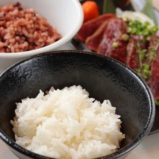 ダイエットや体づくりに欠せない上品なお米