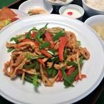 中国料理 涼兎亭 - 料理写真:日替わりセットランチ