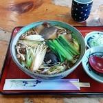 長寿庵 - 料理写真:きのこそば(918円)