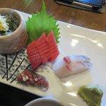 えびや食堂 - お刺身(セット)2018.10.25