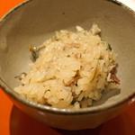 松見坂 小林 - 秋刀魚の炊き込みご飯