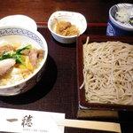 9568664 - せいろと鴨葱丼1,050円