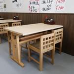 一食堂 - テーブル席