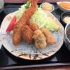 かつみち - 料理写真:ミックスフライ・エビ天そば1420円