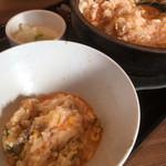 カルビ丼とスン豆腐専門店 韓丼  - 猫舌ですから、移植していただきました。