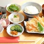開運お料理 愛喜楽 - 天ぷらコース(昼)