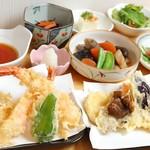開運お料理 愛喜楽 - 天ぷらコース(夜)