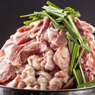 自社精肉店厳選のお肉を全ての肉料理で活用しております!