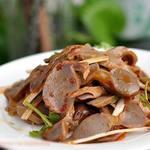 老北京 火鍋料理 蝎子王 - 砂肝の和え物