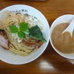 ラーメン専科 竹末食堂 - 超絶、鯖と帆立ペーストつけそば