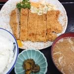 みんみん - 料理写真:バラカツ定食