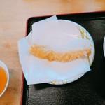 かすが町市場 - イカ天ぷら