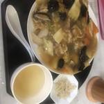へんみ - 料理写真:B定食 あんかけ焼そば