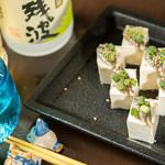 琉球'S - スクガラス豆腐