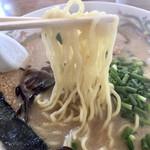 らぁ麺華宝 - 麺アップ