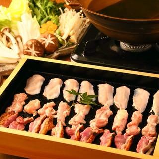 陽名物!奈良の【大和肉鶏の水炊き】