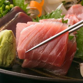 【獲れたての魚介をご堪能ください】