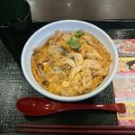 なか卯 - 料理写真:3種のきのこの親子丼