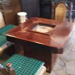 古処 - 囲炉裏テーブル