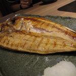 北の味紀行と地酒 北海道 - 特大ほっけ
