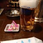95701489 - 2018年10月 生ビール+お通し 370円+100?円