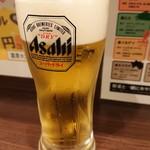 濃厚タンメン三男坊 - 2018年10月 生ビール 380円