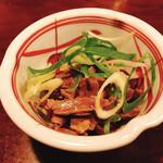 居酒屋 串まさ - 料理写真:砂肝ピリ辛和え