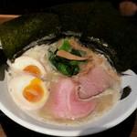 天六きんせい - 【(限定) 和風塩とんこつラーメン 味玉入り】¥950