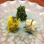 龍吟 - 三色菜々漬