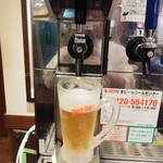 丸亀製麺 - 生ビールサーバー