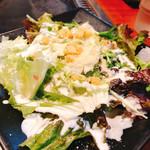 銀の卵 - 料理写真:シーザーサラダ