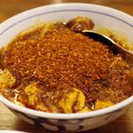 陳麻婆豆腐 - 料理写真:陳麻婆豆腐