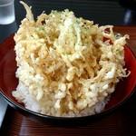 藤屋 - 白魚のかき揚げ丼 750円