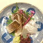 日本酒 福 - お造り盛り合わせ