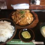 95709206 - 味噌焼きホルモン ¥800