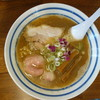 麺屋 わかな - 料理写真:40番濃い口煮干し細麺(\700税込み)
