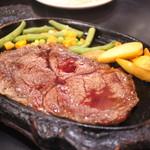 ハイウェイ食堂 - リブロースステーキ