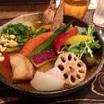 Rojiura Curry SAMURAI. - 美味しそうな野菜がいっぱいです!