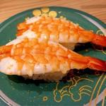 もりもり寿司 - 料理写真:むしえび