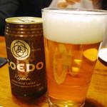 カリフォルニアラウンジ ステーキ&ワイン - COEDO KYARA (コエド 伽羅)
