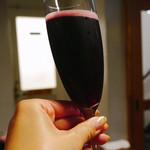 カリフォルニアラウンジ ステーキ&ワイン - ランブルスコ・ロッソ・アマービレ