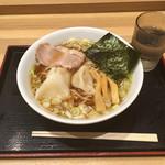 95716239 - 水餃子そば650円(2018.10)