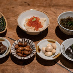 カゼトソラ - 料理写真:2018.11 小鉢7種類(1人分)