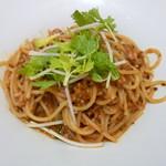 95721550 - 蛸のプッタネスカ スパゲティー