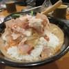 Gorou - 料理写真:遅れてこの店から合流した5人目の友人はごはんを食べて無かったんで五郎飯580円を注文。  明太子やスジコ、納豆等の上にトロロとかつお節が乗ったどんぶりでした。