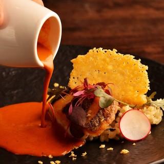 最良の食材や旬の食材を吟味し最適な調理法で提供