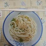 宮川製麺所 - かけうどん(小)