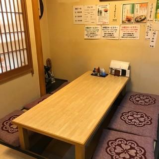 ◇全33席◇ゆったり過ごせる和空間にはカウンター~個室席も!
