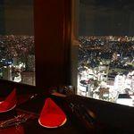 新宿 夜景 M PRIME - 内観写真:東京の夜景にうっとり❤